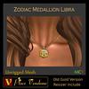 Zodiac Medallion - Libra (Maveric Michigan) Tags: sl secondlife avatar marketplace necklace zodiac medallion