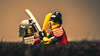 Who will prevail? (3rd-Rate Photography) Tags: lego samurai sword fight japan japanese toy toyphotography minifig minifigure canon macro 100mm jacksonville florida 3rdratephotography earlware 365