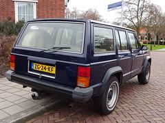 1985 Jeep Cherokee 2.8 (Skitmeister) Tags: zg24kf car auto pkw voiture carspot skitmeister nederland netherlands holland