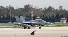 Ejército del Aire McDonnell Douglas EF-18M Hornet C.15-11/12-74, Ala 12 at Malaga AFB/LEMG for DAPEX-18 (Mosh70) Tags: malagacostadelsolairport lemg ejércitodelaire ef18m ef18mhornet mcdonnelldouglas ala12 dapex18