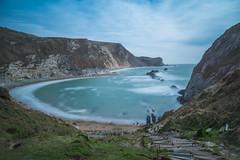 Man O'War Beach (Stuart.67) Tags: manowar beach longexposure dorset england sea cliffs steps nikon d800 sky seascape bay jurassic coast