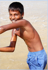Full of life (miguel IV) Tags: youngster boy beachfun weligama