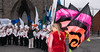 BACKSTAGE AND BEFORE THE PARADE [SAINT PATRICK DAY PARADE IN DUBLIN 2018]-137389 (infomatique) Tags: saintpatricksdayparade 17thmarch stpatricksfestival dublin williammurphy sonya7r111 sony28135mmlens infomatique fotonique marchingband verycoldday snow beforetheparade behindthescenes backstage