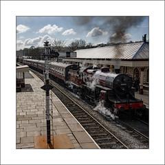 Ramsbottom Train (prendergasttony) Tags: tonyprendergast nikon d7200 lancashire ramsbottom station platform steam engine railway