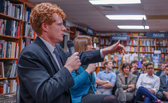 2018.03.20 Sarah McBride and Rep Joe Kennedy, Politics and Prose, Washington, DC USA 4124