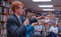 2018.03.20 Sarah McBride and Rep Joe Kennedy, Politics and Prose, Washington, DC USA 4124