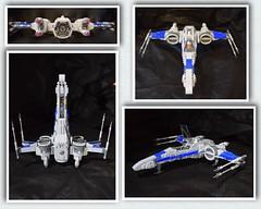 X-wing B (opu2014) Tags: xwing t70 star wars moc force awakens bb8 poe last jedi