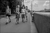 DRD160702_0567 (dmitryzhkov) Tags: russia moscow documentary street life human monochrome reportage social public urban city photojournalism streetphotography people bw dmitryryzhkov blackandwhite everyday candid stranger conversation speak fence enclosure group bunch kid parent walk pedestrian walker outdoor passerby scene scenesoflife