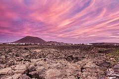 Malpaís - Lanzarote (Spain) (Javier Álamo Andrés) Tags: lanzarote españa spain europe island canarias volcano wash landscape village sunrise sky nature