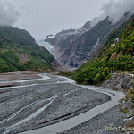 Franz Josef glacier  - not too much of it thumbnail
