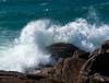 Ocean.....beautiful, mysterious, wild and free..... (glendamaree) Tags: ocean seaside blue nature wild mysterious beautiful water tasmania australia waves green