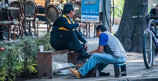 2018 - Mexico City - Shoe Shine Man
