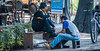 2018 - Mexico City - Shoe Shine Man (Ted's photos - For Me & You) Tags: 2018 cdmx cityofmexico cropped mexicocity nikon nikond750 nikonfx tedmcgrath tedsphotos tedsphotosmexico vignetting bike bicycle denim denimjeans shoes bench seating seated sitting male man men males streetscene street infinitum chairs bottle onebottle wheel red redrule