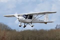 G-ZASH (goweravig) Tags: gzash resident aircraft swansea wales uk swanseaairport gowerflightcentre ikarus c42 fb80