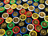 Bed for Fakir (VenusTraum) Tags: fakir bed bett reissnaegel thumbtacks nails naegel buero office colorful bunt farben colors heftzwecken