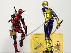 You won't get the box, Wilson! (Cool Ranger by Gui Marques) Tags: geek nerd photography toyphotography toys comics cinema marvel ryanreynolds deadpool coolranger