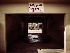 P4210138 (Jessie Bondia) Tags: corydonin corydonindiana corydon indiana in car wash carwash selfservice self service fire ashes