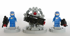 Security (T.Oechsner) Tags: lego classicspace ncs neoclassicspace minifig spacemen