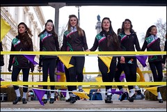 St Patrick's Day, London - DSCF0361a (normko) Tags: london west end saint patrick stpatrick spd day 2018 irish festival parade ireland green dance colleens wexford