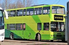 L951 MSC (Nivek.Old.Gold) Tags: 1994 volvo olympian alexander rh doubledecker bus 9600cc collinscoaches milton cambridge schoolservice