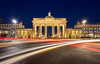 Brandenburg Gate light trails [Explore 21/03/18] (northcountrygirl) Tags: berlin germany travel brandenburggate lighttrails longexposure city architecture tamron1750 canon60d lightstream