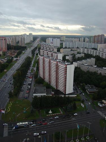 Вид с 30 этажа гостиницы ©  ayampolsky