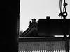 Temple Bell Chion-ji Temple Kyoto (atria2718) Tags: japan nippon kyoto 日本 京都 chionji temple templebell roof monochrome 百万遍知恩寺 梵鐘 屋根 瓦 kawara