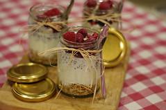 Fruity breakfast pot (My healthy kitchen) Tags: breakfast pot granola yoghurt chiaseeds raspberries fruity delicious tasty healthy goodforyou derbyshire england pentax