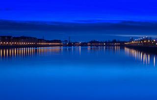 Blue Preston Docks