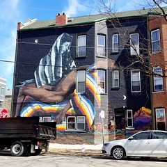 One of the many murals of Pilsen (Josh Thompson) Tags: galaxys8 pieta chicago mural pilsen