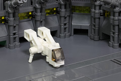 Ugly Ducking: Hangar Bay (Blake Foster) Tags: lego moc afol ugly duckling space spaceship microscale microspace