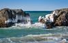 Cold Waves (Ranveig Marie Photography) Tags: ogna holmasanden jæren norge norway ice sea ocean wave waves bølger sjø is vinter winter