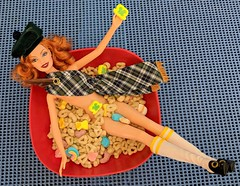 They're always after me lucky charms! (Pablo Pacheco 85) Tags: stpatricksday barbie mattel luckycharms generalmills cereal leprechaun