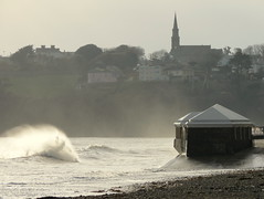 18 03 17 Tramore Co Waterford (1) (pghcork) Tags: tramore waterford waves sea coast ireland winter march 2018