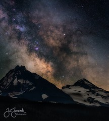 (please follow me on https://500px.com/obrik) Tags: night oregon landscape longexposure nightscape milkyway