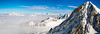 get out the snow storm (Giulio Giuliani) Tags: mountain mountains clouds altitude winter snow panoramic composed stitch sky blue