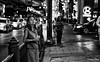 Drifting off into a world of thoughts (gunman47) Tags: 2017 asia bangkok central christmas december east road siam south thai thailand body drifting landscape light mind night people photography sidewalk soul street thought thoughts krungthepmahanakhon 50mm f14 lens black white bw b w monochrome