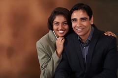 Me and Rashi {EXPLORED} (rajnishjaiswal) Tags: father daughter portrait family familyportrait studio strobe smiling smilinggirl