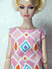 """Bright"" up your life - the mosaic dress (Levitation_inc.) Tags: ooak handmade doll dolls clothes dress outfit levitation levitationfashion etsy poppy parker bright nuface fashion royalty integrity toys barbie barbiestyle colorful colors mod joyful japan"
