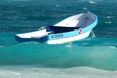 Wild Caribbean (elhawk) Tags: boat tulum yucatan