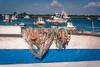 Echar las redes (Alicia Clerencia) Tags: puntaumbría mar sea seainlet ría barcos boats red net boya buoy landscape paisaje marina marine blue azul
