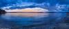 Half Moon Bay Pano.jpg (jamiepacker99) Tags: 2018 spring march sunshinecoast bc canada sea water landscape seascape beach bluehour shoreline pebbles canoneos6d canonef24105mmf4lisusmlens cloud