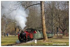 Parkeisenbahn Dresden - 2018-04 (olherfoto) Tags: bahn eisenbahn schmalspurbahn parkbahn parkeisenbahn dresden dampf dampflok dampfzug vasut kisvasut rail railway railroad narrowgauge steam train steamtrain