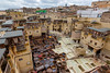 Tannery in Fes (Yuki UK) Tags: fez morocco fes tannery
