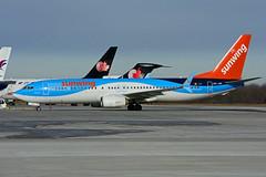 OO-JAV (Sunwing - TUIfly) (Steelhead 2010) Tags: sunwingairlines yhm b737 boeing b737800 oojav