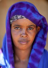 Portrait of a somali woman in blue hijab, North-Western province, Berbera, Somaliland (Eric Lafforgue) Tags: adultonly africa african africanethnicity barbara berbera blackethnicity culture developingcountry documentary eastafrica ethnic female headshot hijab hornofafrica islam islamic lifestyle lookingatcamera muslim oneperson onepersononly onewomanonly outdoors portrait soma4348 somali somalia somaliland traditionalclothing veil vertical woman women northwesternprovince