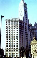 Wrigley Building (moacirdsp) Tags: wrigley building chicago cook county illinois usa 1973