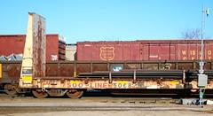 SOO 5068, WC, Neenah yard, 7 Apr 18 (kkaf) Tags: neenah neenahyard soo bulkheadflat