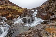 Water.....Falling..... (gmorriswk) Tags: landscape snowdonianationalpark 06softndgrad formatthitech waterfall beddgelert wales unitedkingdom gb