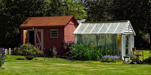 Garden Shed U0026 Greenhouse | Red Oak Park Neighborhood